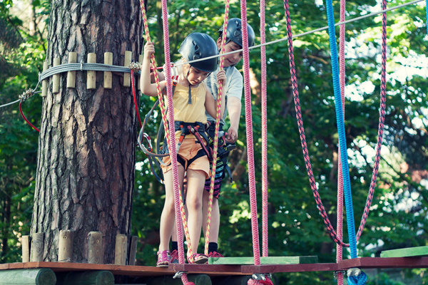 campground insurance ropes course